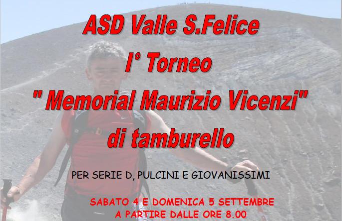 I° Torneo Vicenzi a Valle San Felice